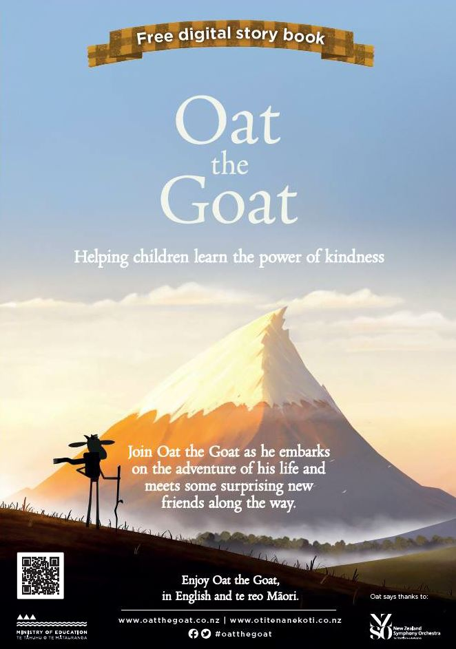 Oat the Goat A3 poster